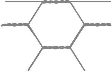 Maglia esagonale Avigal 40x0.9 50 cm x 10 m.