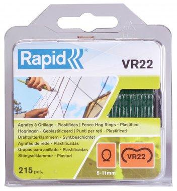 Pinzatura rapida VR22 verde rivestito 215 pezzi