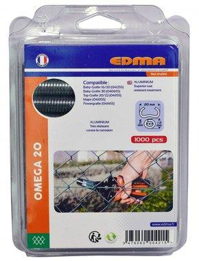 Curve ad anello Edma Omega 20 mm alluminio Omega 20 mm 1000 pezzi
