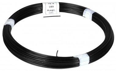 Spago PVC nero 100 m 1,4/2,0 mm
