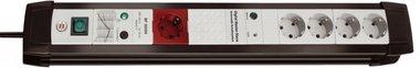 Protezione da sovratensione Premium-Line 5 bande nero/grigio chiaro 3 m