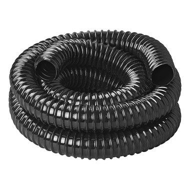 Tubo flessibile per acque reflue nero 2,50M / 19mm