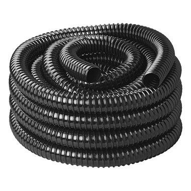 Tubo flessibile per acque reflue nero 10M / 25mm
