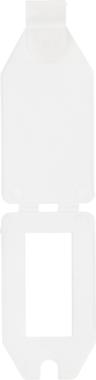Fascia di prezzo, plastica 40 x 27 mm