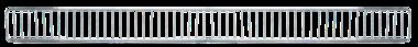 Superficie del diffusore 1250 x 95 mm