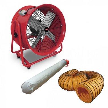 Ventilatore mobile su ruote 550W 3x400V